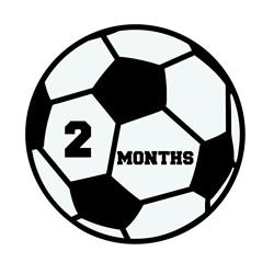 2 Months Soccer print art