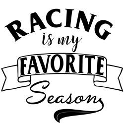 Racing Favorite Season print art