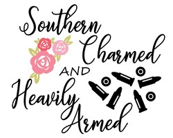 charmed and armed print art
