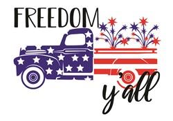 Freedom YAll print art