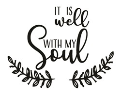 Well With My Soul print art