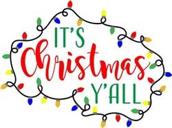 its christmas yall print art