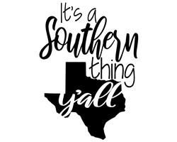 southern thing print art