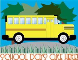 School Days Are Here! print art