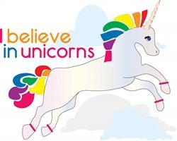 I Believe In Unicorns print art