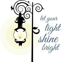 Light Bright print art