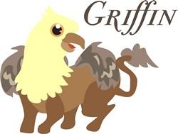 Griffin print art