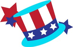 Patriotic Top Hat print art