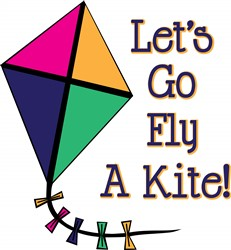 Fly a Kite print art