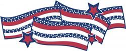 Patriotic Banner print art