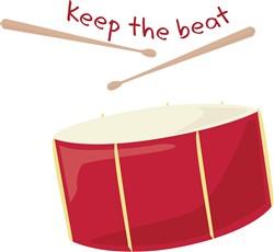 Keep The Beat print art