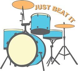 Just Beat It print art