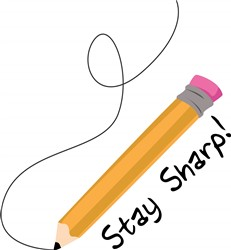 Stay Sharp print art