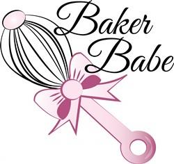 Baker Babe print art