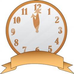 Clock print art