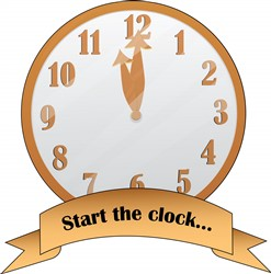 Start The Clock print art