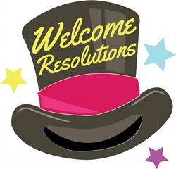 Welcome Resolutions print art