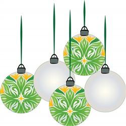 Holiday Ornaments print art