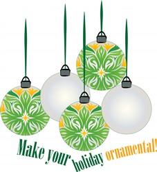 Holiday Ornamental print art