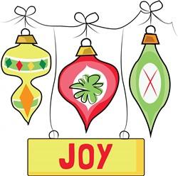Christmas Joy print art