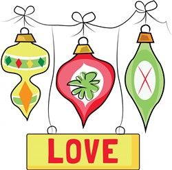 Christmas Love print art