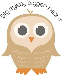 Big Eye Owl print art