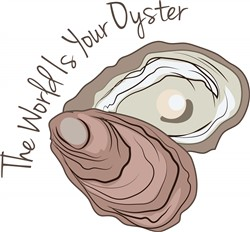 Your Oyster print art