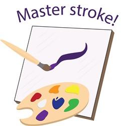 Master Stroke print art