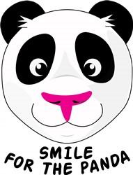 Smile For Panda print art