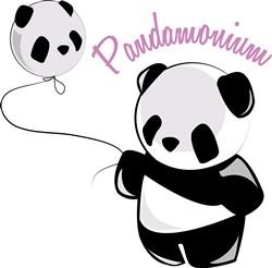 Pandamonium print art