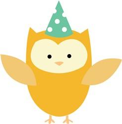 Party Owl print art