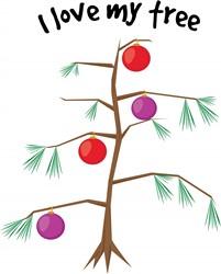 Love My Tree print art