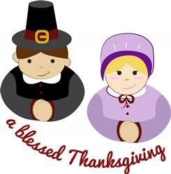 Blessed Thanksgiving print art