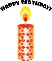 Birthday Candle print art