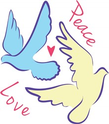 Peace Dove print art