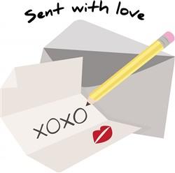 Sent With Love print art