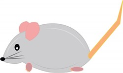 Mouse print art