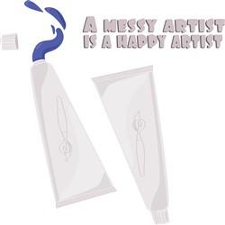 Happy Artist print art