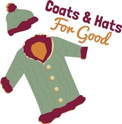 Coats & Hats print art