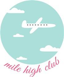 Mile High Club print art