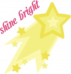 Shine Bright print art