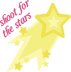 Shoot For Stars print art