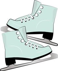 Ice Skates print art