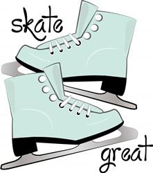 Skate Great print art