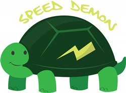 Speed Demon print art