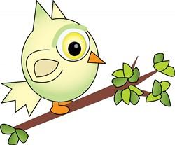 Owl In Tree print art