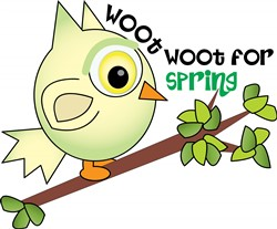Woot For Spring print art