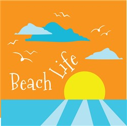 Beach Life print art
