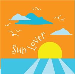 Sun Lover print art