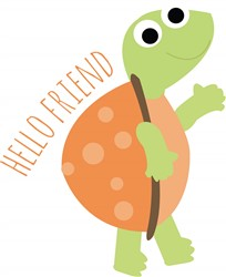 Hello Friend print art